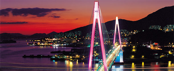 Yeosu Bridge, South Korea